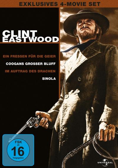 Clint Eastwood Collection - 4-Movie-Set [4 DVDs]