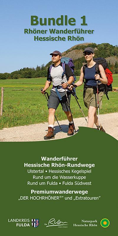 Bundle 1 Rhöner Wanderführer Hessische Rhön