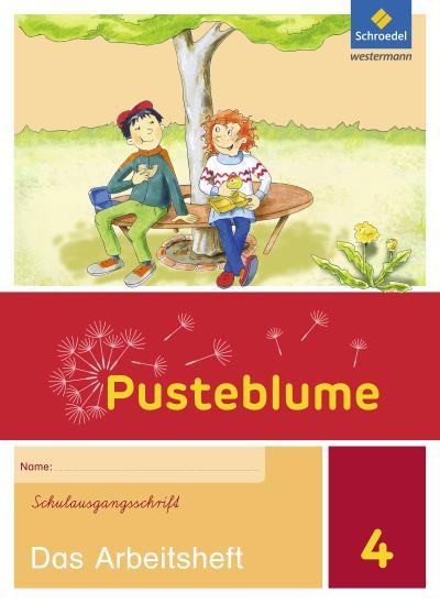 Pusteblume. Das Sprachbuch - Ausgabe 2015 für Berlin, Brandenburg, Mecklenburg-Vorpommern, Sachsen-Anhalt und Thüringen: Arbeitsheft 4