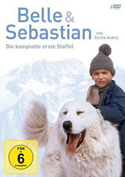 Belle und Sebastian, 3 DVDs. Staffel.1