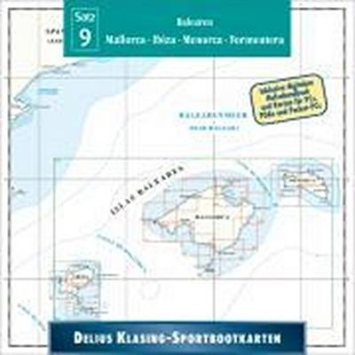 Sportbootkarten 09. Balearen. CD-ROM