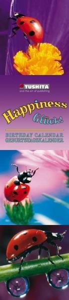 Happiness Slim Line Birthday Calendar