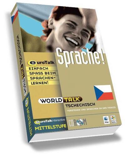 World Talk Czech: Improve Your Listening and Speaking Skills - Intermediate (PC/Mac) - Eurotalk Limited - CD-ROM, Tschechisch, EuroTalk, Mittelstufe. Windows 98/NT/2000/ME/XP und Mac OS 8.6 und höher, Mittelstufe. Windows 98/NT/2000/ME/XP und Mac OS 8.6 und höher