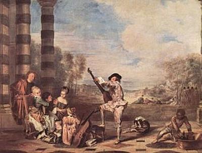Antoine Watteau - Les Charmes de la vie (Die Schönheiten des Lebens) - 1.000 Teile (Puzzle)