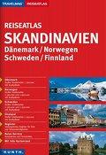 KUNTH Reiseatlas Skandinavien, Dänemark, Norw ...
