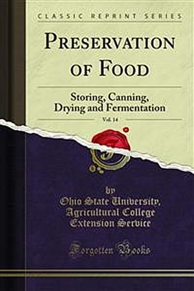 Preservation of Food