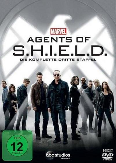 Marvel's Agents Of S.H.I.E.L.D.. Staffel.3, 6 DVDs