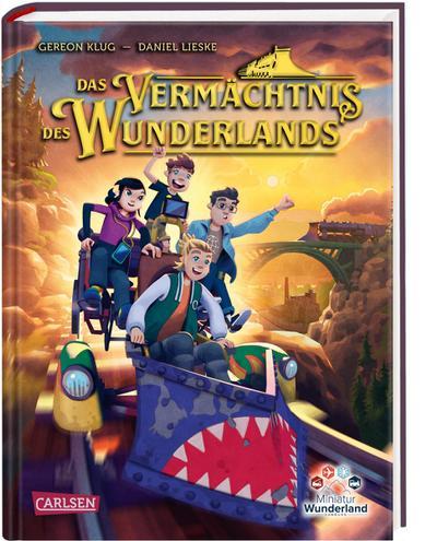 Das Vermächtnis des Wunderlands (Abenteuer Miniatur Wunderland 1)