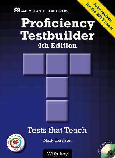 Proficiency Testbuilder. Student's Book with 2 Audio-CDs and Key and MPO