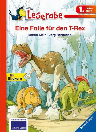 Eine Falle für den T-Rex - Leserabe 1. Klasse - Erstlesebuch für Kinder ab 6 Jahren