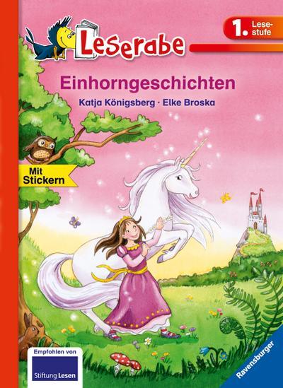 Leserabe: Einhorngeschichten