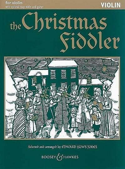 The Christmas fiddler for violin(easy violin and guitar ad lib)