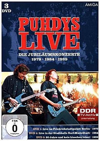 Die Jubiläumskonzerte, 3 DVDs