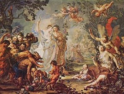 Johann Georg Platzer - Allegorie der vier Jahreszeiten - 200 Teile (Puzzle)