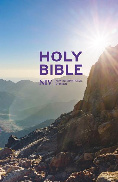 New International Version Thinline Value Hardback Bible