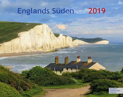 Englands Süden 2019: Großformat-Kalender 58 x 45,5 cm - S Linnemann - Kalender, Deutsch, Bernhard Kils, ,