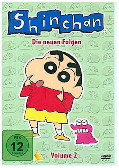 Shin Chan - Die neuen Folgen. Vol.2, 1 DVD