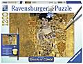 Gustav Klimt: Goldene Adele. Puzzle Touch of Gold 1200 Teile