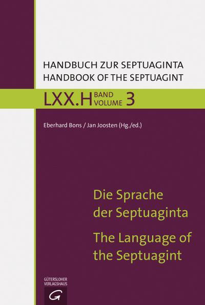 Die Sprache der Septuaginta