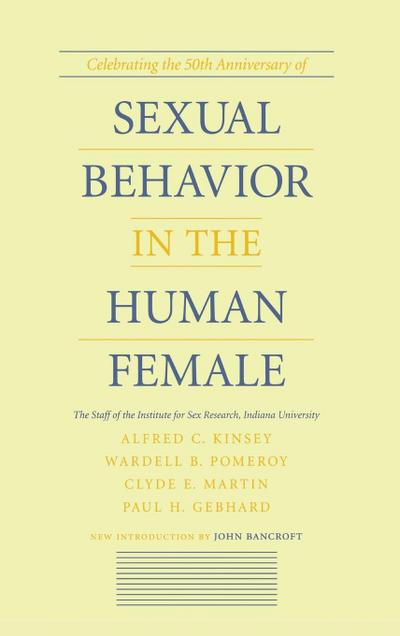 Sexual Behavior in the Human Female