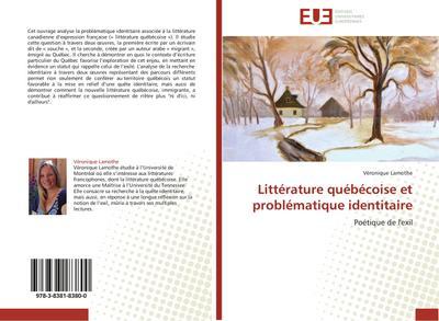 Littérature québécoise et problématique identitaire