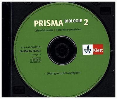 Prisma Biologie, Ausgabe Nordrhein-Westfalen, Neubearbeitung 7./8. Schuljahr, Lehrerhinweise auf CD-ROM