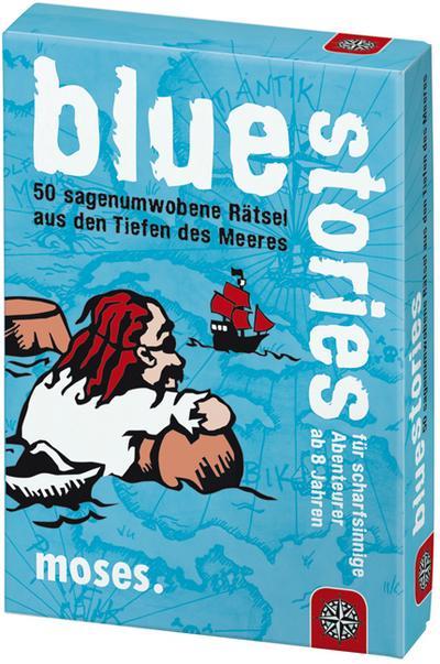 Blue Stories - 50 sagenumwobene Rätsel aus den Tiefen des Meeres