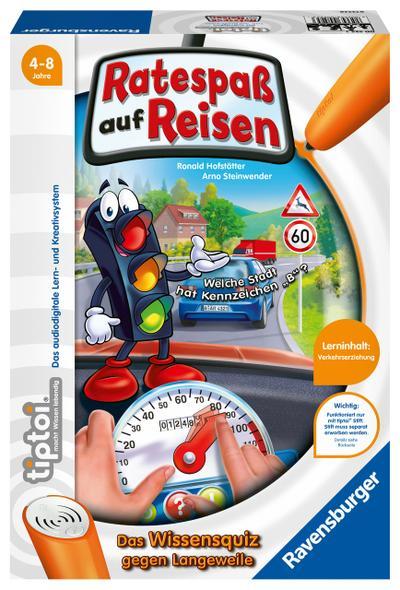 Ravensburger 00525 - Tiptoi: Ratespaß auf Reisen (ohne Stift)