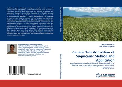 Genetic Transformation of Sugarcane: Method and Application