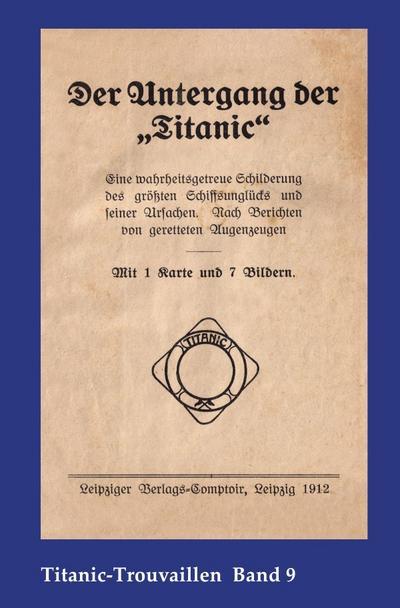 Der Untergang der 'Titanic'