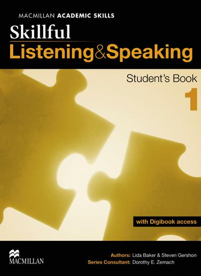 Skillful Level 1. Listening and Speaking. Student's Book with digibook (ebook with additional practice area and video material)