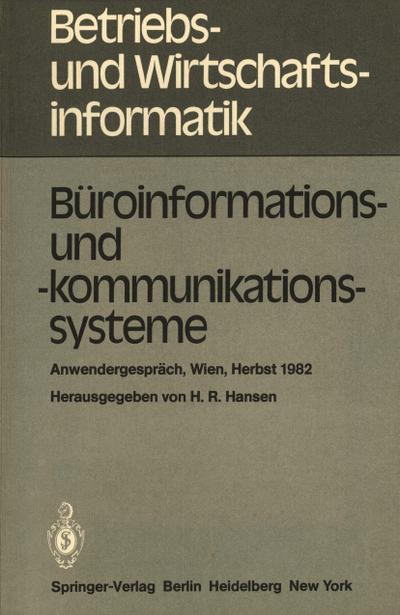 Büroinformations- und -kommunikationssysteme