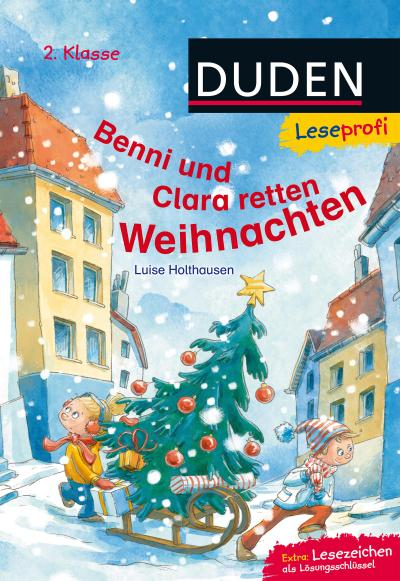 Leseprofi - Benni und Clara retten Weihnachten, 2. Klasse