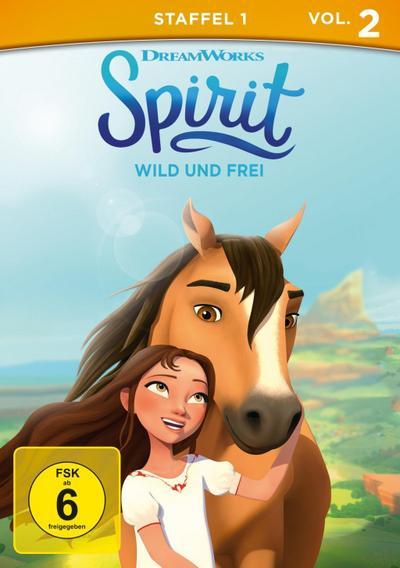 Spirit - Wild und frei, Staffel1, Vol. 2 - Universal Pictures Germany Gmbh (DVD) - DVD, Englisch| Deutsch, , Deutsch, Englisch für Hörgschädigte, Deutsch, Englisch für Hörgschädigte