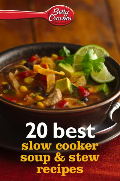 20 Best Slow Cooker Soup & Stew Recipes