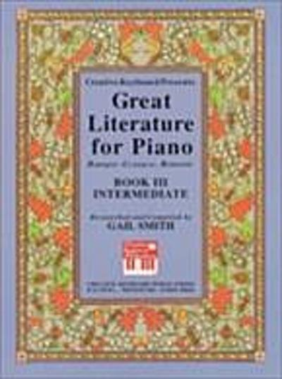 Great Literature for Piano Book 3 Intermediate