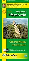 Naturpark Pfälzerwald Blatt 8 Östlicher Wasgau mit Bad Bergzabern 1 : 25 000