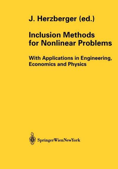 Inclusion Methods for Nonlinear Problems