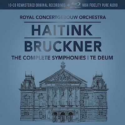 Haitink: Bruckner - The Complete Symphonies + Te deum, 10 Audio-CDs + 1 Blu-ray-Audio