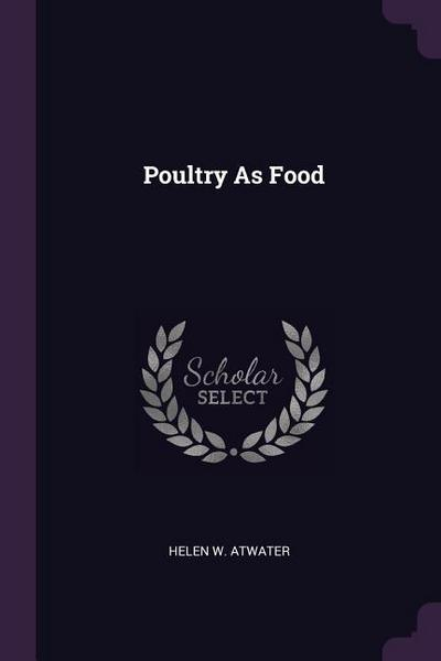 Poultry as Food