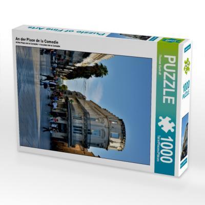 An der Place de la Comedie (Puzzle)