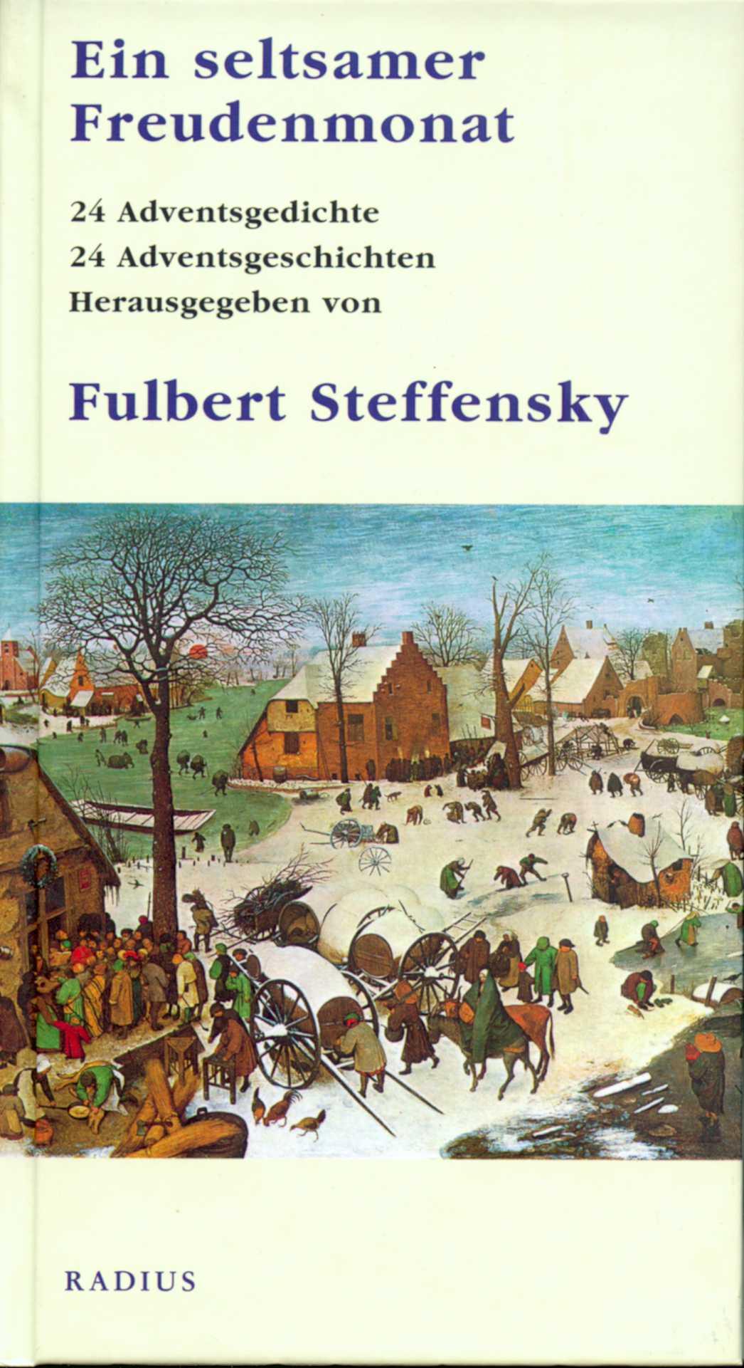 Ein seltsamer Freudenmonat - Fulbert Steffensky -  9783871739248