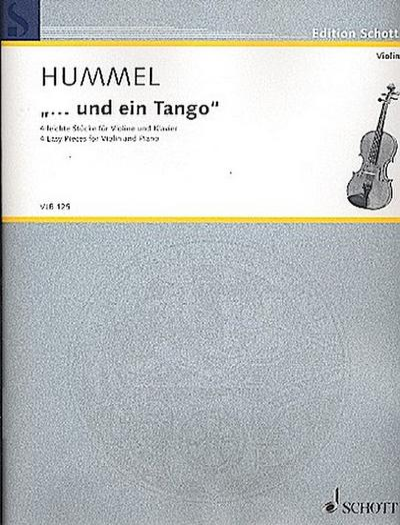 Und ein Tango für Violine und Klavier