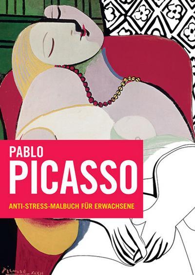 Pablo Picasso: Anti-Stress-Malbuch für Erwachsene