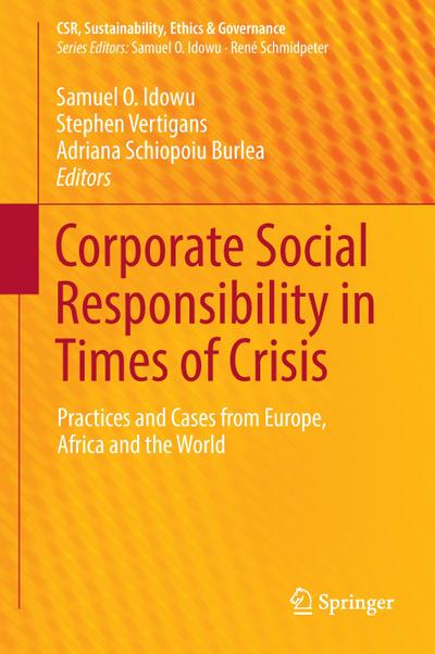 Corporate Social Responsibility in Times of Crisis