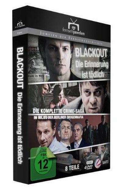 Blackout: Die Erinnerung ist tödlich - Die komplette Crime-Saga (Fernsehjuwelen) [3 DVDs]
