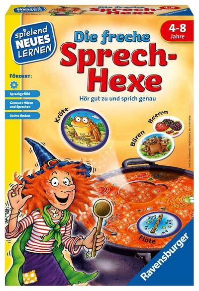 Ravensburger 24944'Die freche Sprech-Hexe Lernspiel
