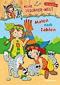 Meine Indianer-Welt. Malen nach Zahlen; Mit Farbtafel!; Malbücher und -blöcke; Ill. v. Lohr, Stefan; Deutsch; schw.-weiss m. Farbtafel