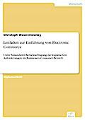 Leitfaden zur Einführung von Electronic Commerce - Christoph Wawrzinowsky