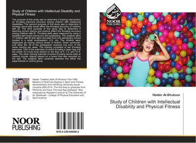 Study of Children with Intellectual Disability and Physical Fitness